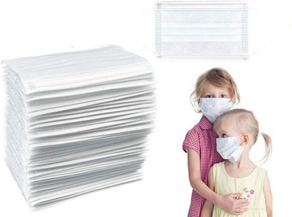 Disposable Kids Face Mask